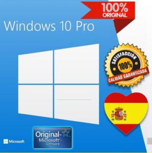 Clave Windows 10 Pro