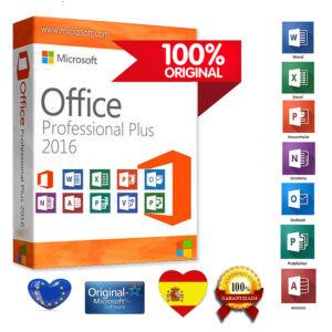Office profesional plus 2016